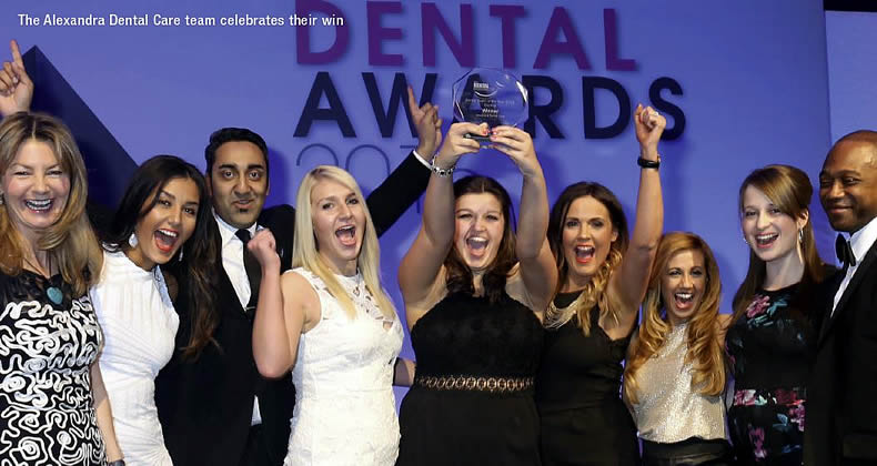 Alexandra Dental Team Award